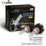 X3はFanless H11 6000lm 25WのファイZes車LEDのヘッドライトを細くする
