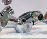 Mélangeur en laiton classique de bidet de poignée de zinc de corps (BM56604)
