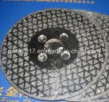 Roda de moedura super do CBN do diamante das etapas dos abrasivos