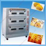 Exportador profesional de horno eléctrico de la convección de la hornada del pan