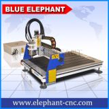 Mini ranurador del CNC de madera de la mesa 6090 de la alta calidad para el metal
