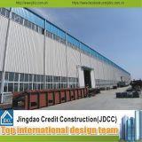 Almacén estructural de acero prefabricado Jdcc1016 del edificio