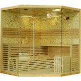 Stanza asciutta di sauna della più nuova di disegno 2017 pietra tradizionale di lusso della coltura