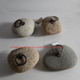 Fluss-Felsen-Türanschlag-/Stone-Tür-Stopper-/River-Felsen-Türanschläge
