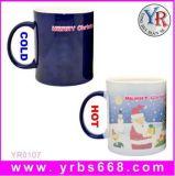 2014 canecas de Natal Brindes Promocionais caneca de cerâmica com mudança de cor