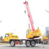 Sany Stc250-IR2 트럭에 의하여 거치되는 이동 크레인 Sany 새로운 트럭 기중기의 에너지 절약 25 톤