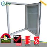 안전 UPVC/PVC 두 배 유리제 경사와 회전 유리창