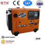 Silencio Generador Diesel con CE & ISO9001 (DG6LN)