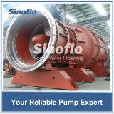 Pompes de asséchage d'écoulement axial de mer de transfert tubulaire submersible d'eau