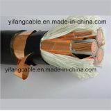 Медный проводник XLPE изолировал медной кабель экранированный лентой