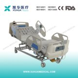 Fünf Funktions-elektrisches medizinisches Bett für ICU Raum mit wiegender Schuppe