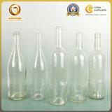 Adesivo de alta qualidade garrafa de vinho de vidro verde escuro (153)