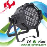 54 PCS 3 Watt par, vous pouvez LED RGBW Stade lumière