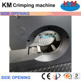 Máquina de friso da mangueira aberta do lado da tela de toque (KM-83A)