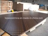 contre-plaqué fait face par film de 16mm 17mm 18mm/contre-plaqué de fabrication/construction de Shandong de faisceau joint par doigt