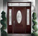 Польностью твердая естественная деревянная дверь с высоким качеством