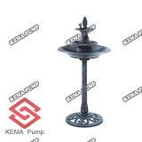 Resina Birdbath con Fountain (W/Pump)