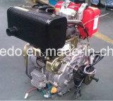 Deiselの発電機および水ポンプ等のためのWd170空気によって冷却される小さいディーゼル機関4.0HP