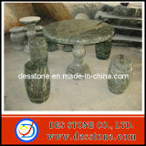 Espeleología mármol serpentino verde con patio tabla