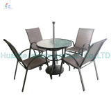 Giardino Furniture Set di Rattan Sofa Wicker Sectional Sofa del patio di Set Outdoor del patio di Rio con Table Furniture