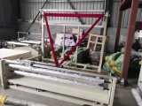 La película de plástico de alta velocidad de rebobinado de plegado y la máquina
