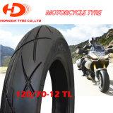 Heißer Verkaufs-preiswerter Preis-schlauchloser Reifen/Gummireifen 120/70-12 100/60-12