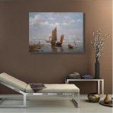 Peinture d'huile de la reproduction de bateau d'expédition