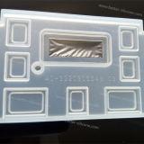 Kundenspezifischer transparenter freier Silikon-Gummi-Tastatur-Deckel