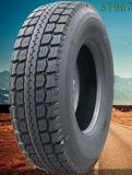 تجاريّة شعاعيّ نجمي شاحنة يسعّر إطار العجلة [12.00ر20] يتأهّب في مستودع