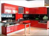 Глянцевая индивидуальные дерева акриловый кухонные шкафы Мебель для гостиниц (акриловые для дверцы шкафа электроавтоматики)