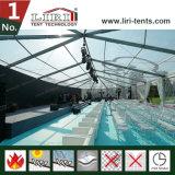 Barraca branca do evento do pico elevado do projeto do telhado da cor para a venda