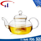 Hecho a mano resistente al calor tetera de vidrio borosilicato (CHT8133)