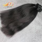 自然なカラー加工されていなく膚触りがよくまっすぐなバージンのペルーの毛の拡張