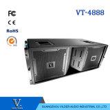 Vt-4888 Dreiwegedoppeltes12 '' Woofer-Lautsprecher-Berufszeile Reihe