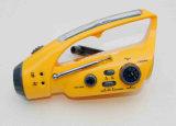 Radio avec lampe de poche solaire
