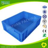 Grey Plastic Mold Turnover Box para embalagem e transporte