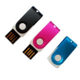 Promocional Gift Mini USB Flash Drive com Hot Plug-and-Play Function