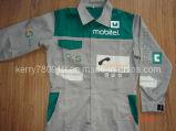 Печать с возможностью горячей замены ковбой покрыть/куртка/ Coverall куртка (DH-CJ119)