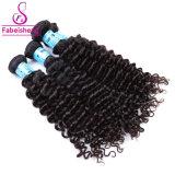 Comercio al por mayor profundidad el cabello humano sin procesar paquetes de onda de la Virgen de cabello europeo