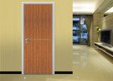 Porte d'entrée du bois, aluminium, l'intérieur de porte de bois porte en bois