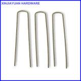 """관개 관 둥근 상단을%s 사용해 직류 전기를 통했다 직물 Pin 뗏장 물림쇠 길이 6 """" X1 """" X6를 """""""