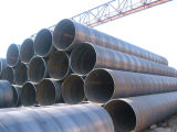 Api 3PE Insulation Layer Coating Spiral Welded Line Steel Pipe