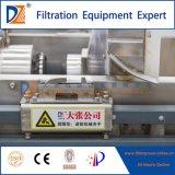 Prensa de filtro hidráulica del acero inoxidable de Dazhang