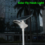 LiFePO4 리튬 건전지를 가진 통합 태양 옥외 정원 빛