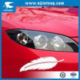 Étiquettes blanches de collant de PVC pour le véhicule de moto électrique