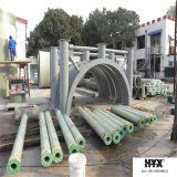 Material de poliuretano adoptar Tubo de plástico reforzado con fibra para el transporte de agua Hotspring