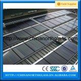 glace Tempered de panneau solaire de fer inférieur de 3.2/4mm
