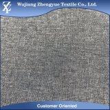 100d polyester Elastane 4 Melange van het Kation van de Rek van de Manier de Grijze Stof van de Kleur voor het Kledingstuk van de Broeken van het Kostuum