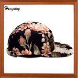 カスタム花の平らなピーク5のパネルの帽子