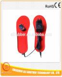 3.7V 1800mAhの無線遠隔充電電池の熱くする靴の中敷